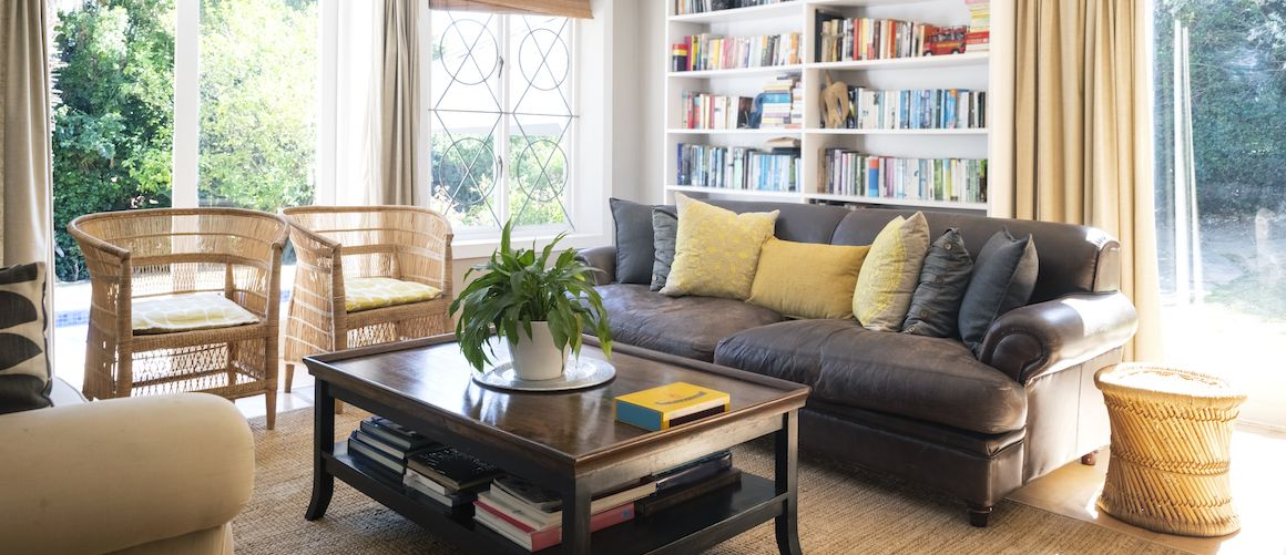 Living Room with Books